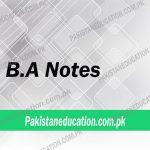 ba notes