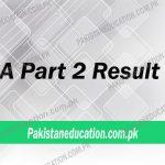 BA Part 2 Result 2018