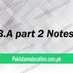 BA Part2notes