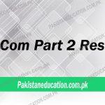 BCom part 2 result 2018