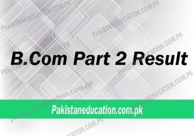 Check Your Bcom part 2 result 2021 [UPDATED]
