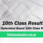 10th Class Result 2018 Hyderabad Board