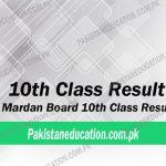 10th Class Result Mardan Board