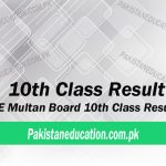 10th Class Result Multan Board