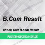 BCom Result 2018
