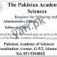 Pakistan Academy Of Sciences