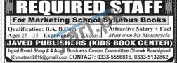 Marketing Jobs in Rawalpindi