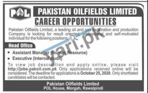 Pakistan Oilfields Limited POL Jobs in Rawalpindi