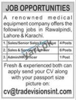 Admin Officer and HR Officer Jobs in Rawalpindi