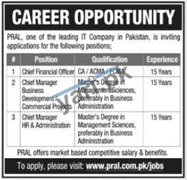 Chief Manager HR & Administration Jobs in Rawalpindi