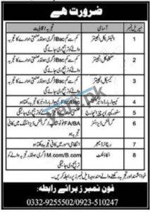 Electrical Engineer Mechanical Engineer & Chemical Engineer Jobs in Peshawar