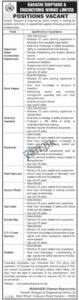 Engineering Staff Required for Karachi Shipyard & Engineering Works KSEW
