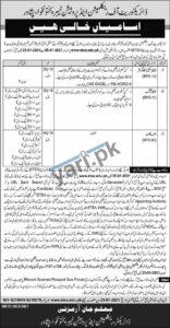 Govt Jobs for Stenographer & Clerk in KPK